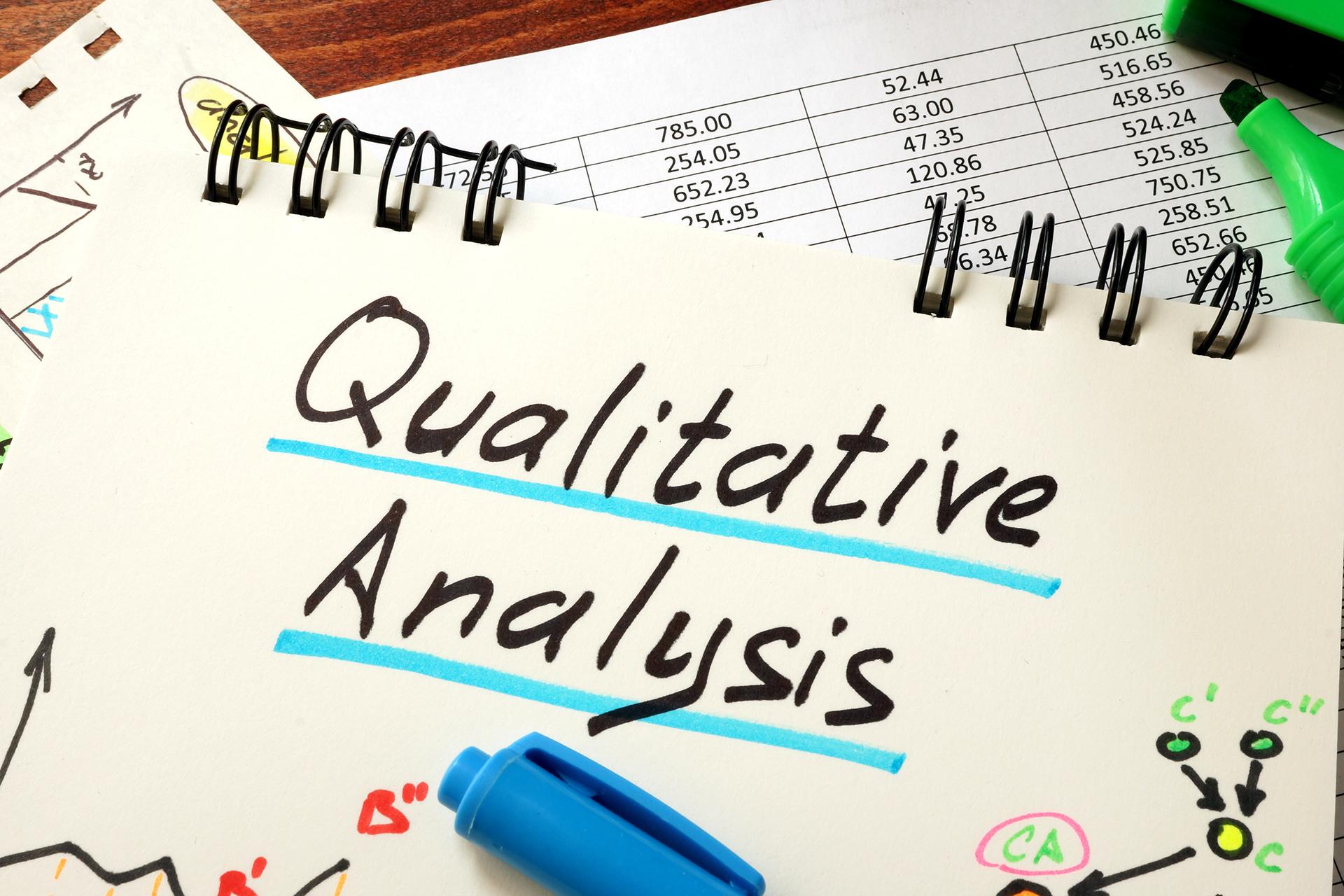 ¿Qué es el análisis de datos cualitativos y cómo se realiza?