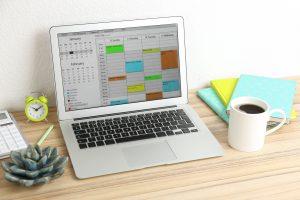 cronograma para estudiar y trabajar